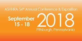Save the Date: ASHHRA 54th Annual Conference and Exposition. September 15th to the 18th. Pittsburgh, Pennslyvania